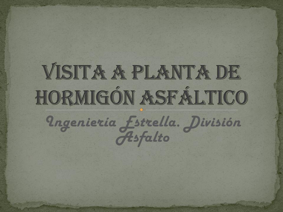 Visita a Planta de Hormigón Asfáltico