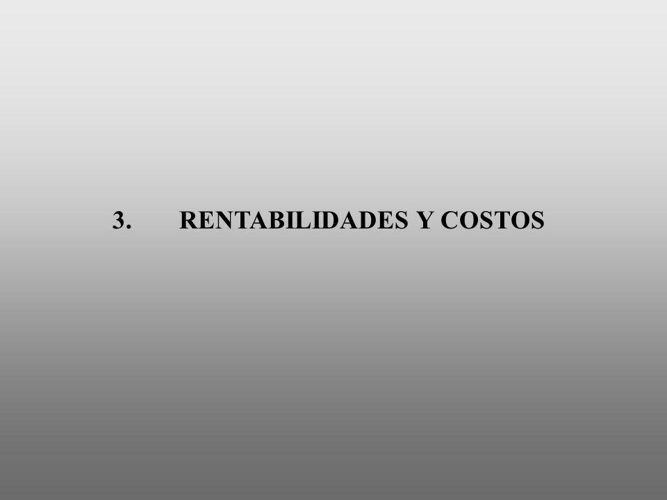 3. RENTABILIDADES Y COSTOS