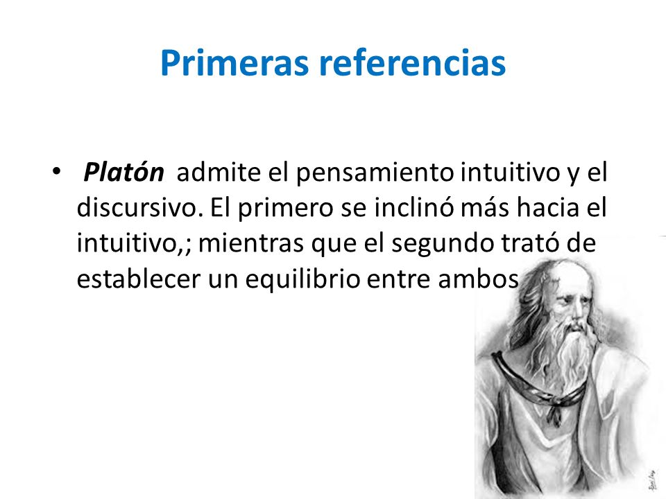 Primeras referencias
