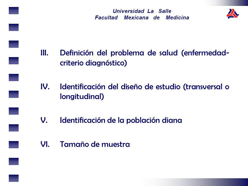 Definición del problema de salud (enfermedad-criterio diagnóstico)