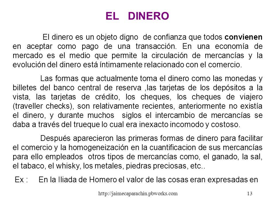 EL DINERO