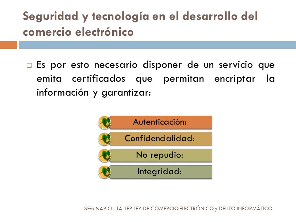 Seguridad y tecnología en el desarrollo del comercio electrónico