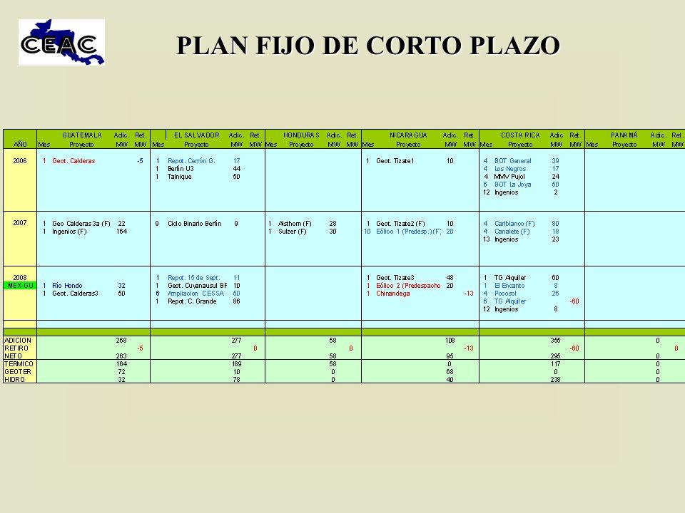 PLAN FIJO DE CORTO PLAZO