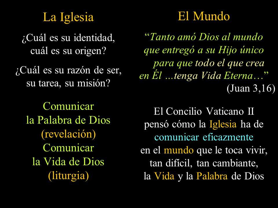 La Iglesia El Mundo Comunicar la Palabra de Dios (revelación)
