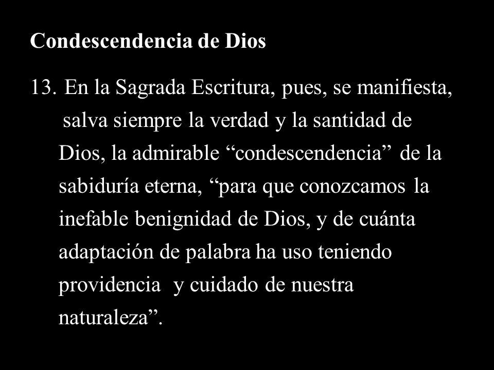 Condescendencia de Dios