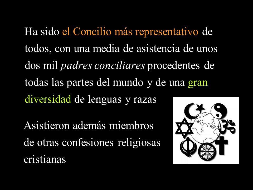 Asistieron además miembros de otras confesiones religiosas cristianas