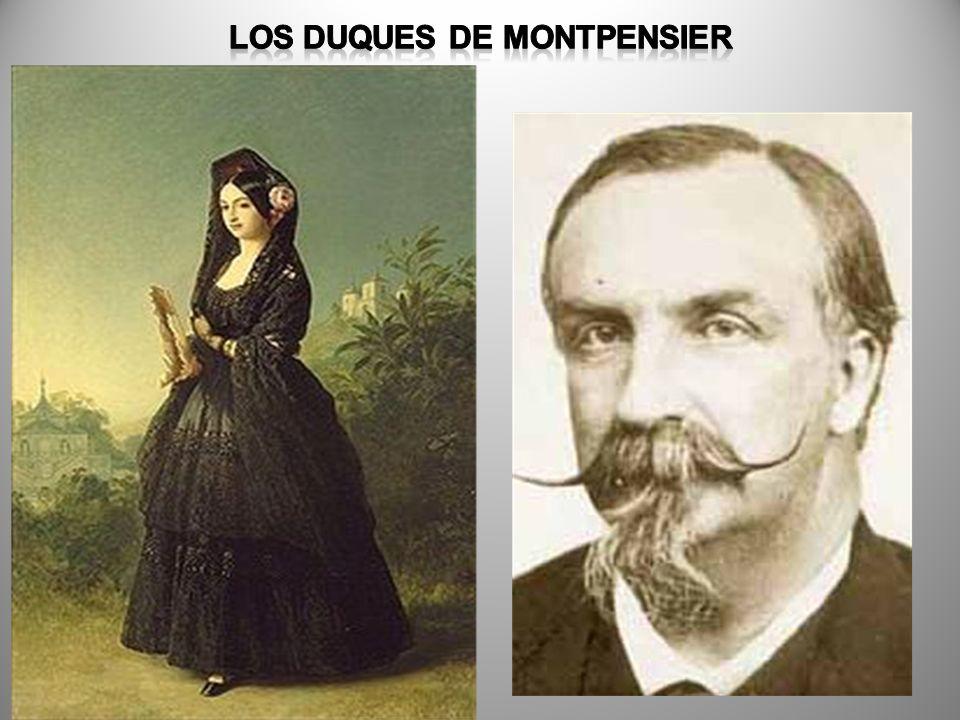 LOS DUQUES DE MONTPENSIER