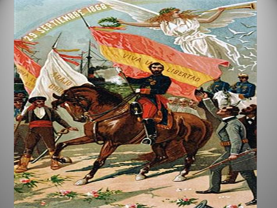 LA GLORIOSA 1868