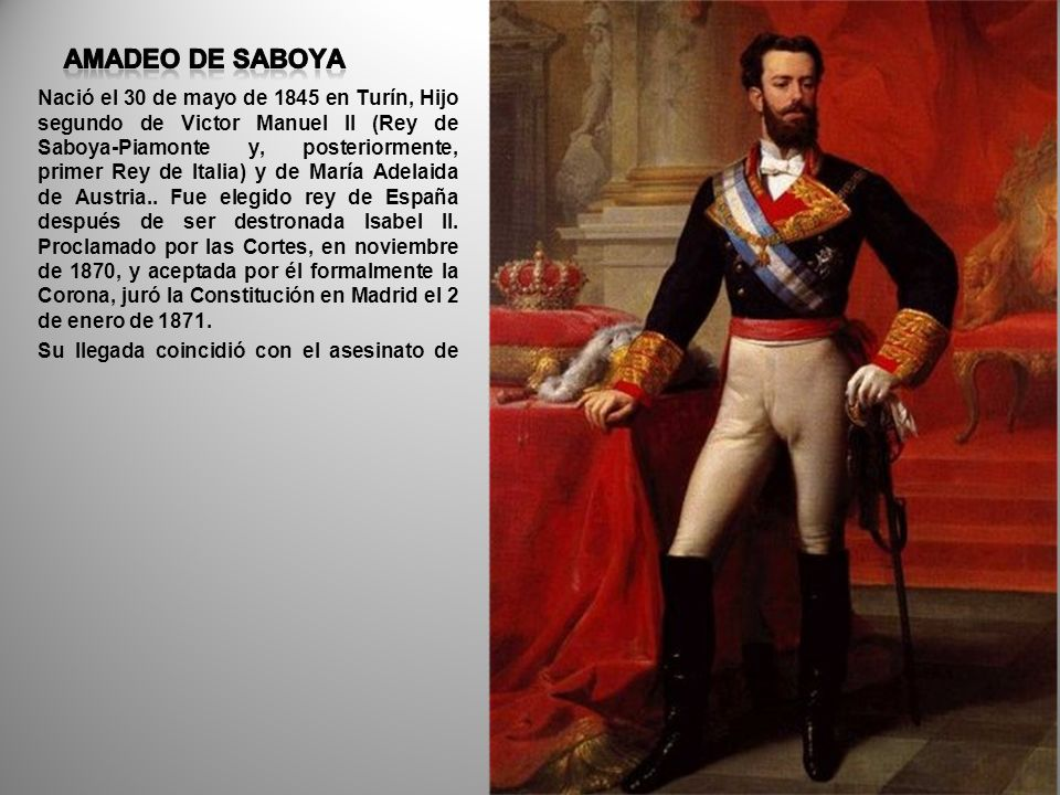 AMADEO DE SABOYA
