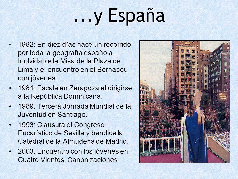 ...y España