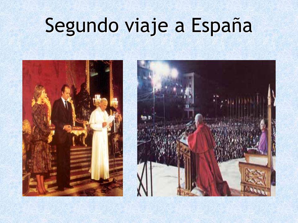 Segundo viaje a España