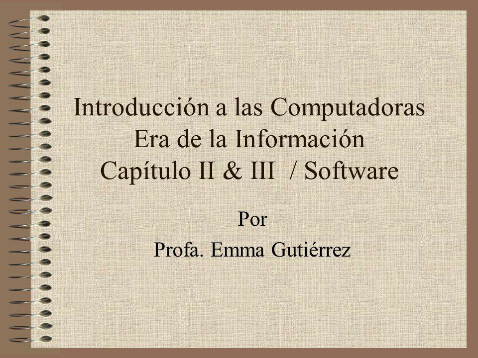 Por Profa. Emma Gutiérrez