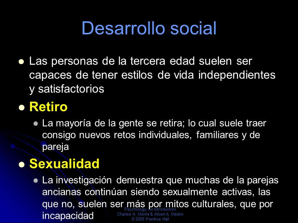 Desarrollo social Retiro Sexualidad