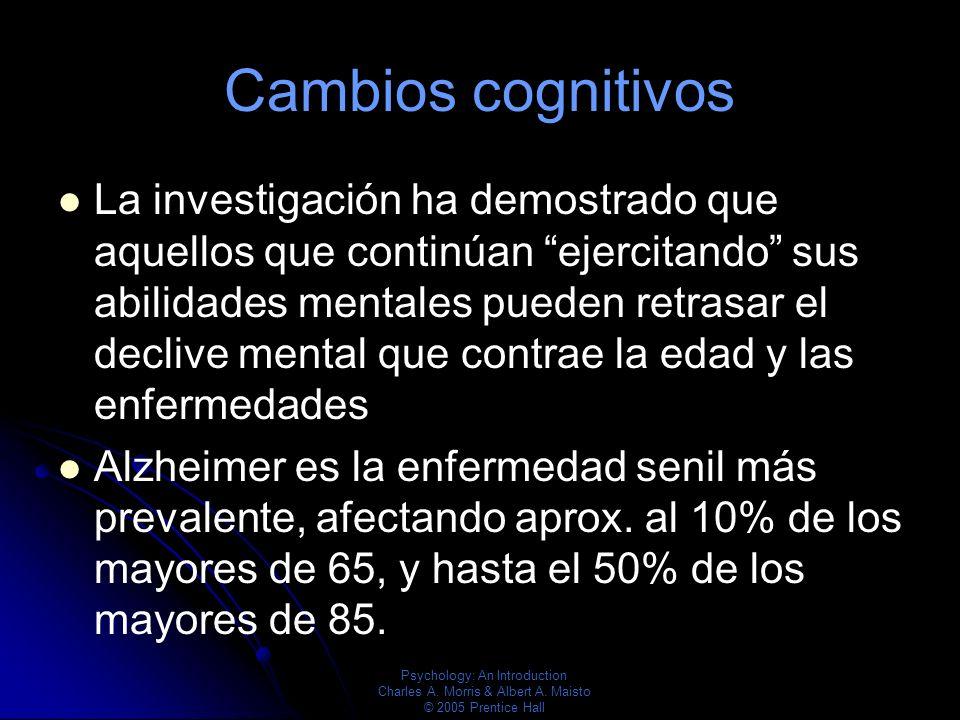 Cambios cognitivos