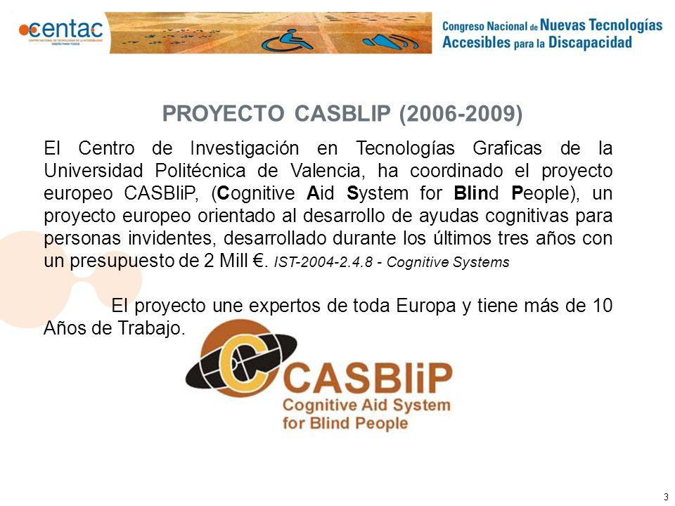 PROYECTO CASBLIP (2006-2009)