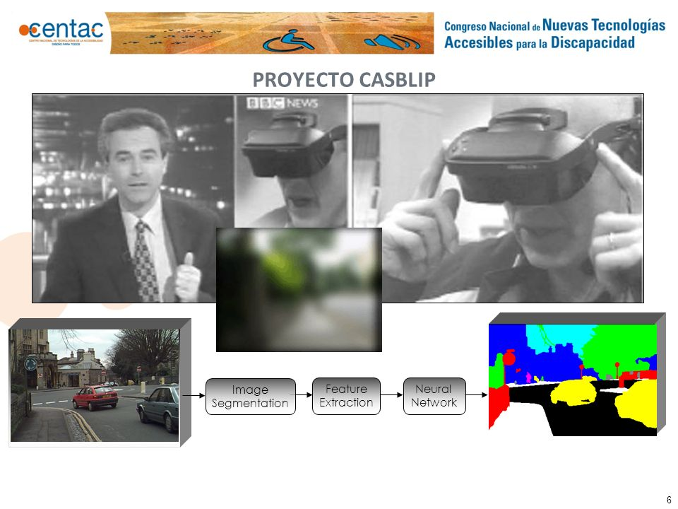 PROYECTO CASBLIP Image Segmentation Feature Extraction Neural Network