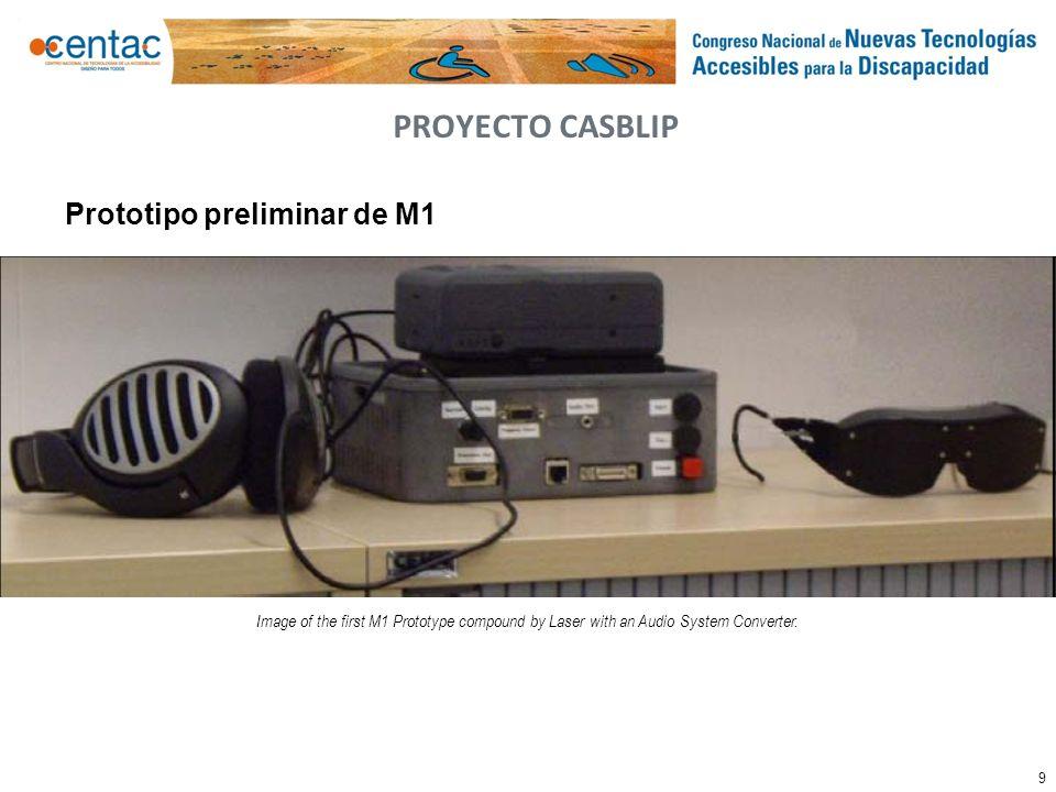 PROYECTO CASBLIP Prototipo preliminar de M1