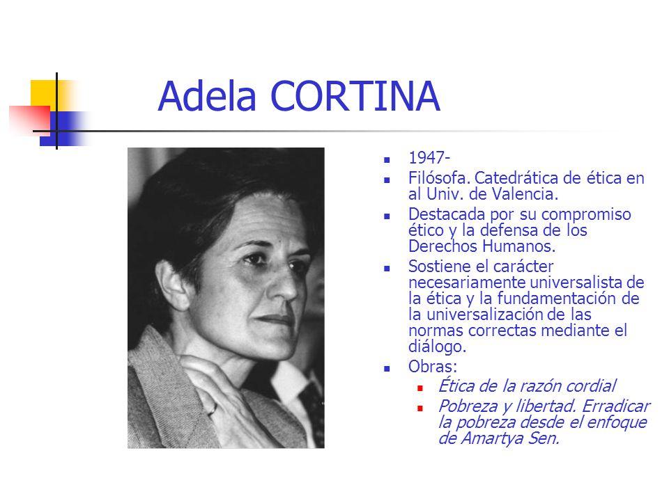 Otros continentes frica asia y latinoam rica ppt descargar - Adela cortina libros ...