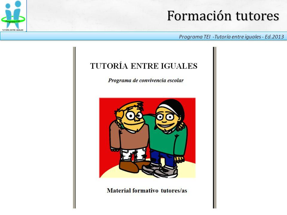 Formación tutores