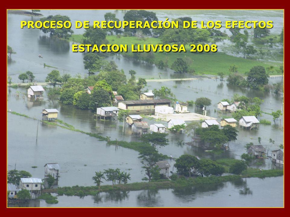 PROCESO DE RECUPERACIÓN DE LOS EFECTOS