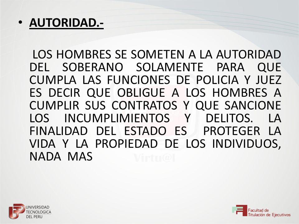 AUTORIDAD.-