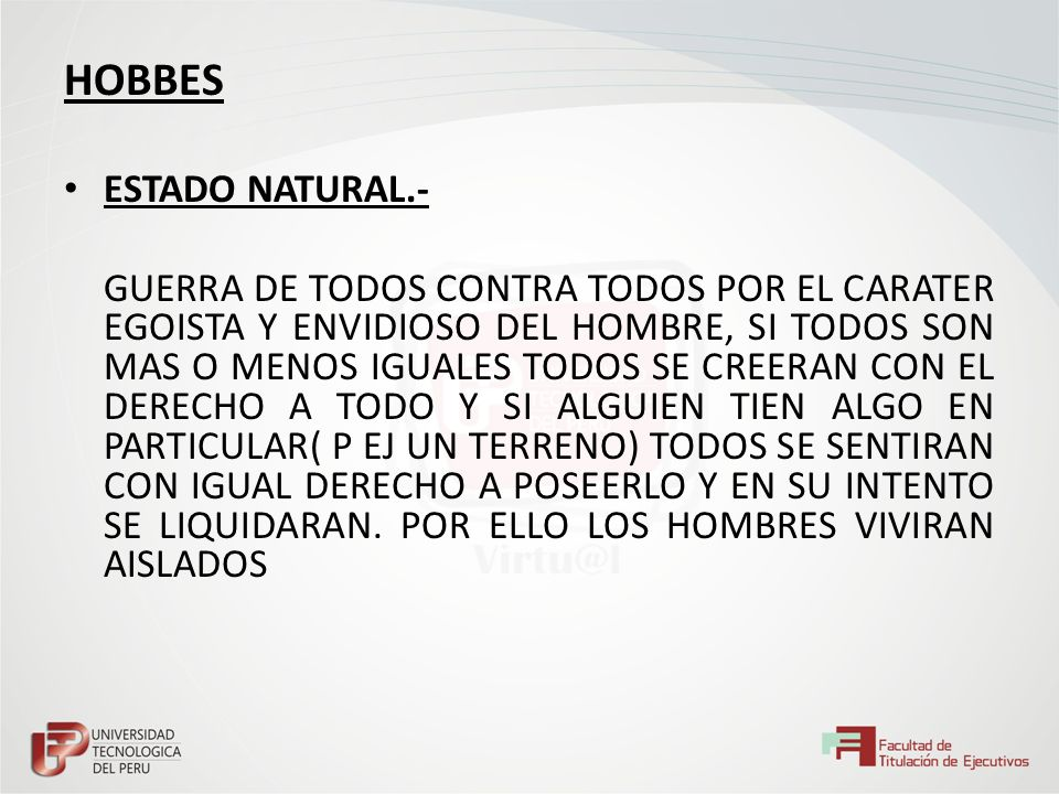 HOBBES ESTADO NATURAL.-