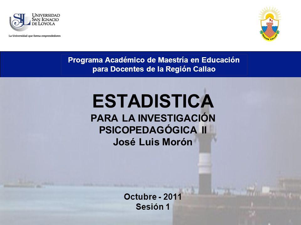 Programa Académico de Maestría en Educación para Docentes de la Región Callao