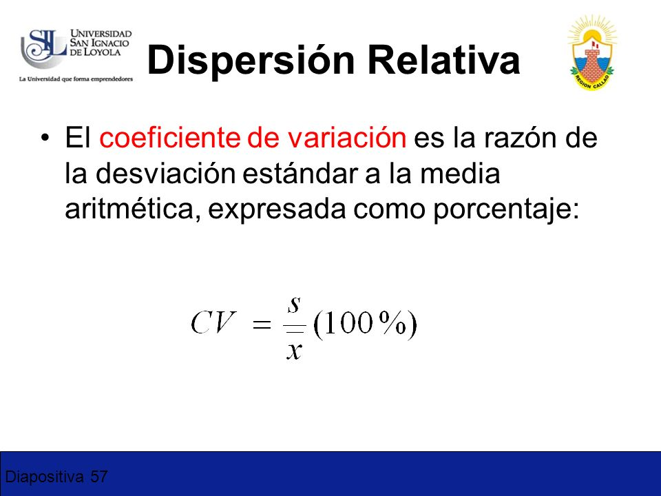 4-17 Dispersión Relativa.