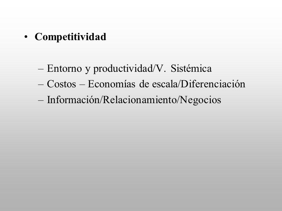Competitividad Entorno y productividad/V. Sistémica.