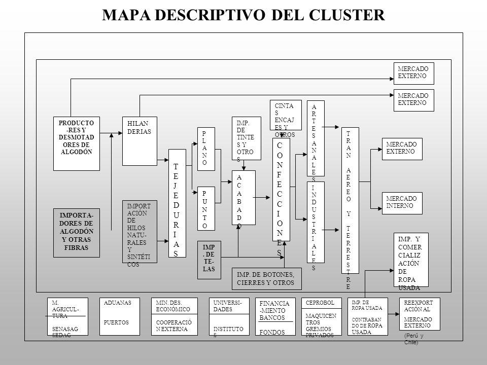 MAPA DESCRIPTIVO DEL CLUSTER