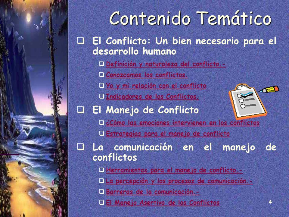 Curso: Manejo de Conflictos