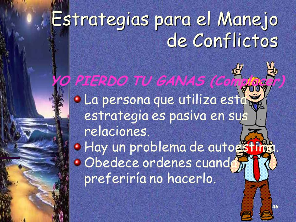 Estrategias para el Manejo de Conflictos