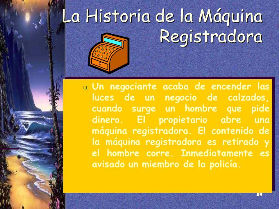 La Historia de la Máquina Registradora