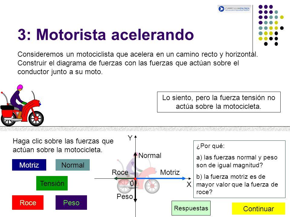3: Motorista acelerando