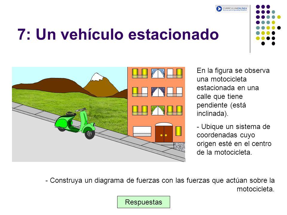 7: Un vehículo estacionado