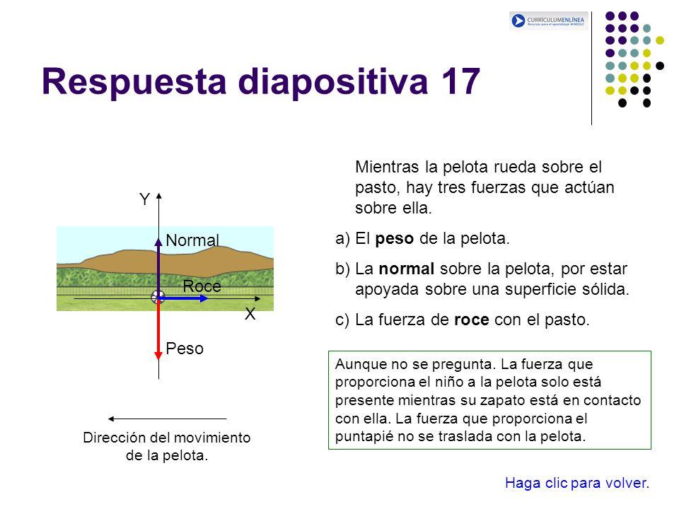 Respuesta diapositiva 17