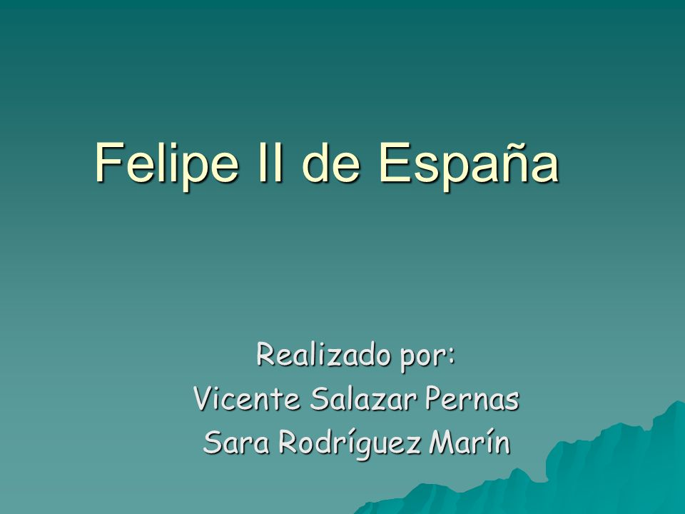 Realizado por: Vicente Salazar Pernas Sara Rodríguez Marín