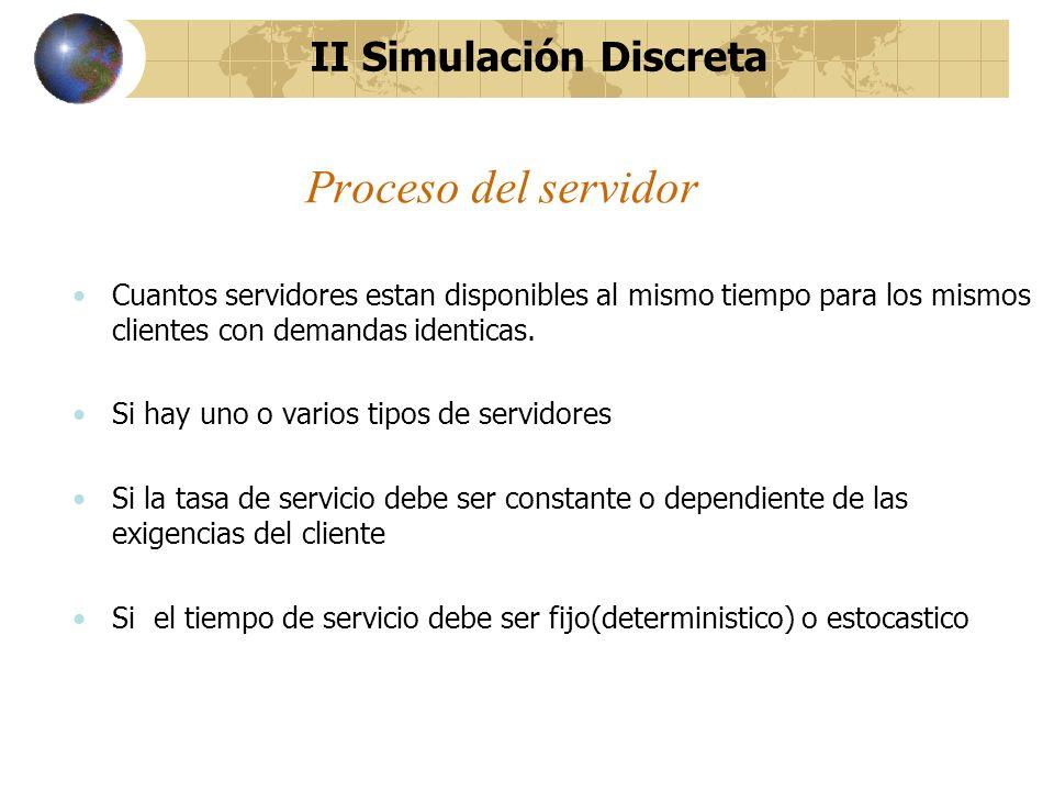 II Simulación Discreta