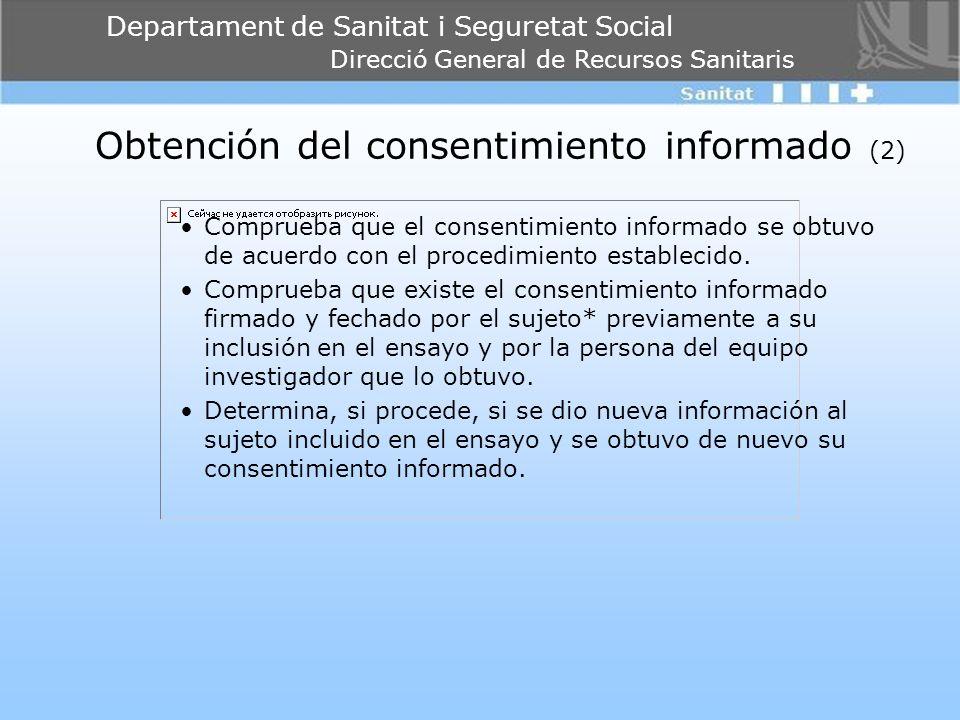 Obtención del consentimiento informado (2)