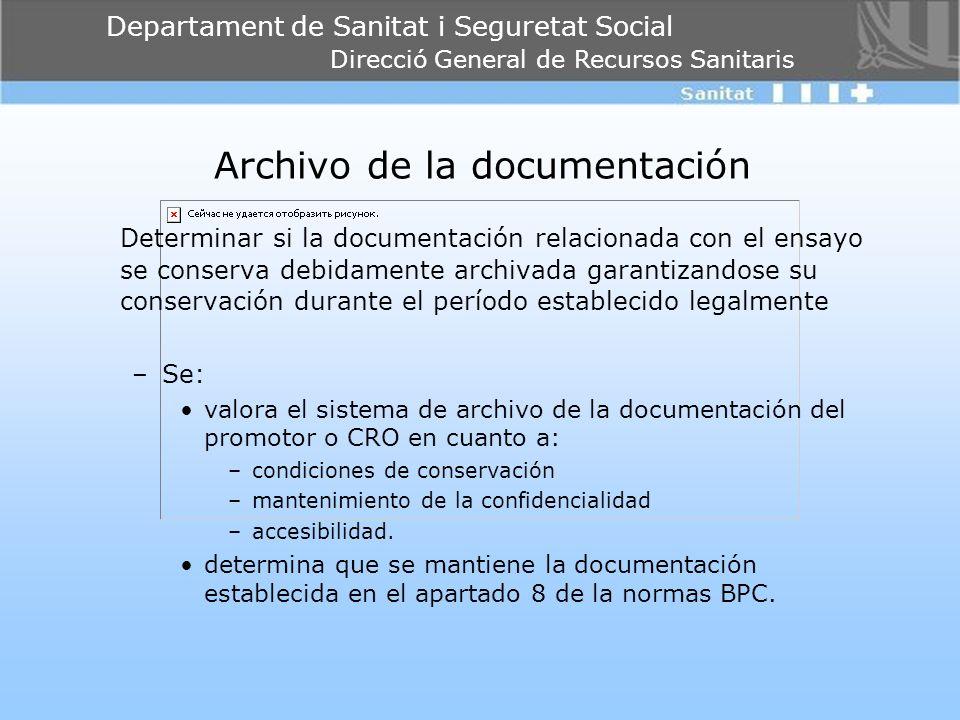 Archivo de la documentación