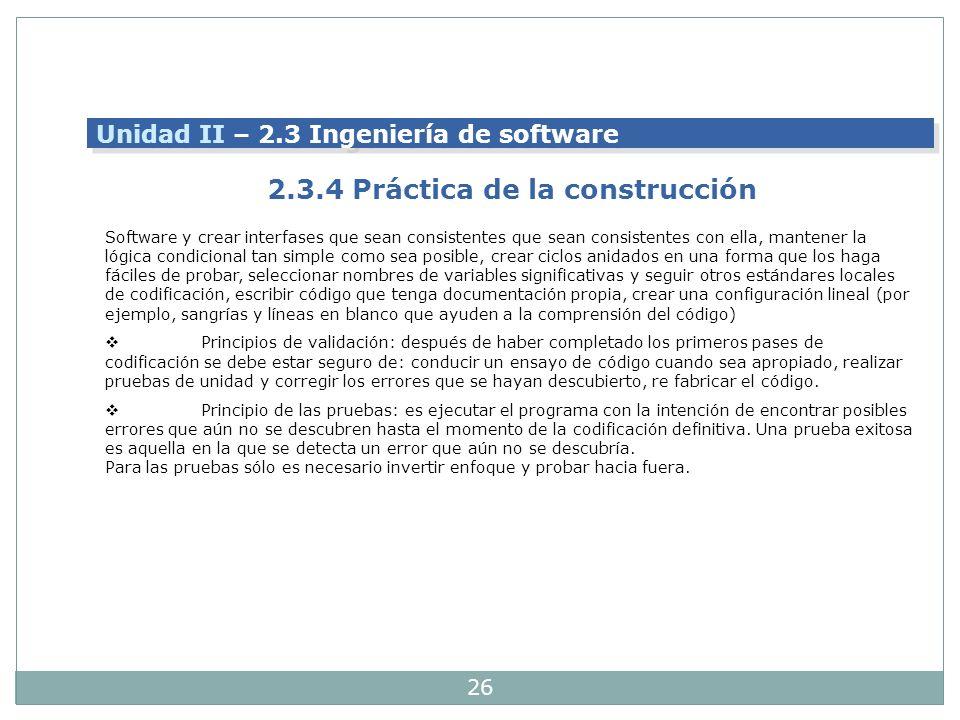 2.3.4 Práctica de la construcción