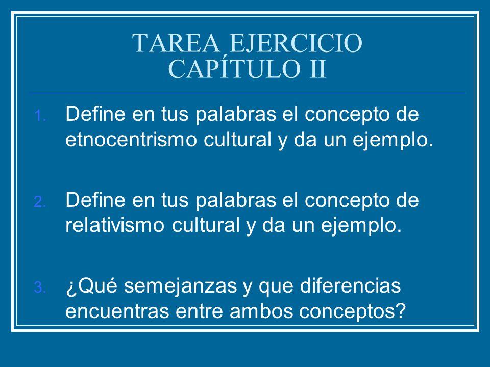 TAREA EJERCICIO CAPÍTULO II