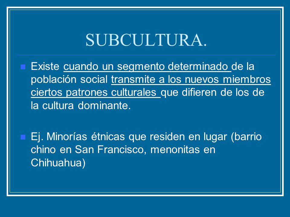 SUBCULTURA.