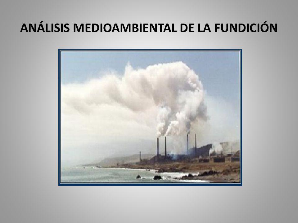 ANÁLISIS MEDIOAMBIENTAL DE LA FUNDICIÓN