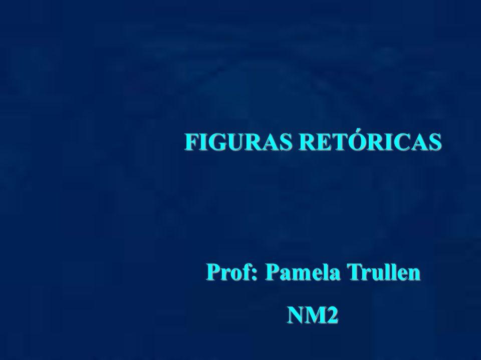 FIGURAS RETÓRICAS Prof: Pamela Trullen NM2