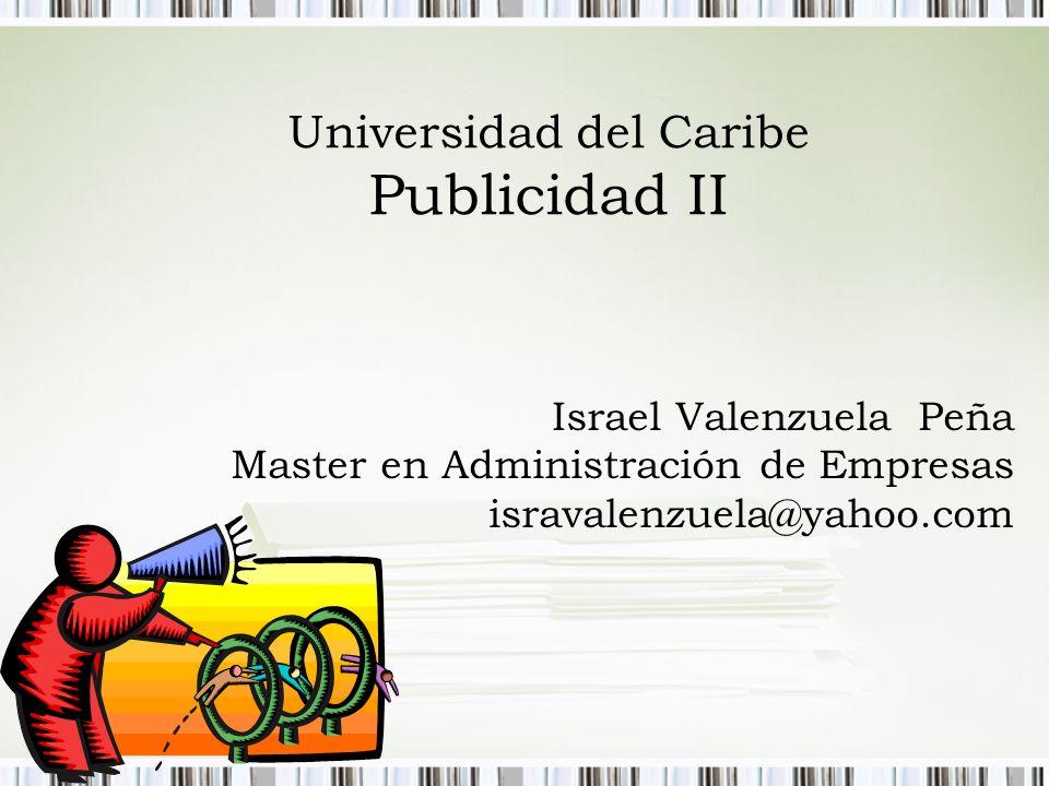 Universidad del Caribe Publicidad II