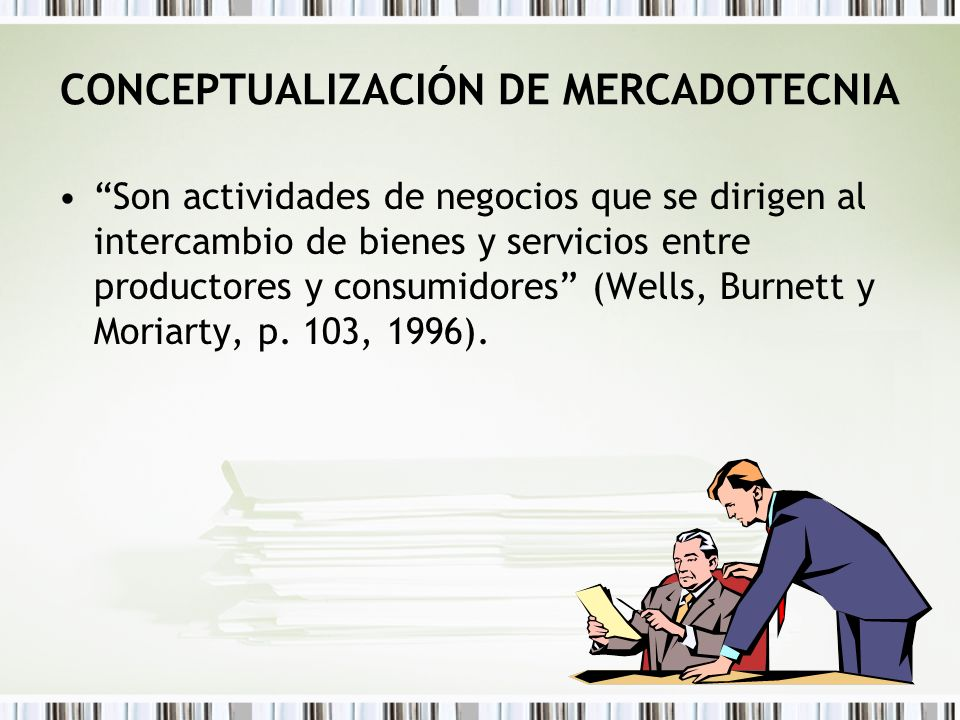 CONCEPTUALIZACIÓN DE MERCADOTECNIA