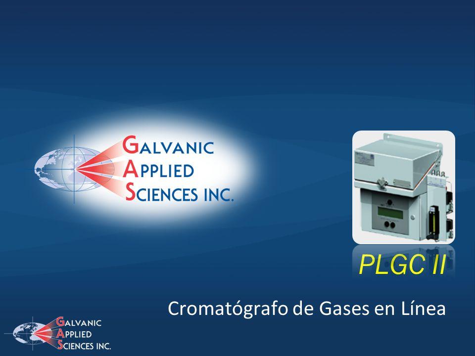 PLGC II Cromatógrafo de Gases en Línea