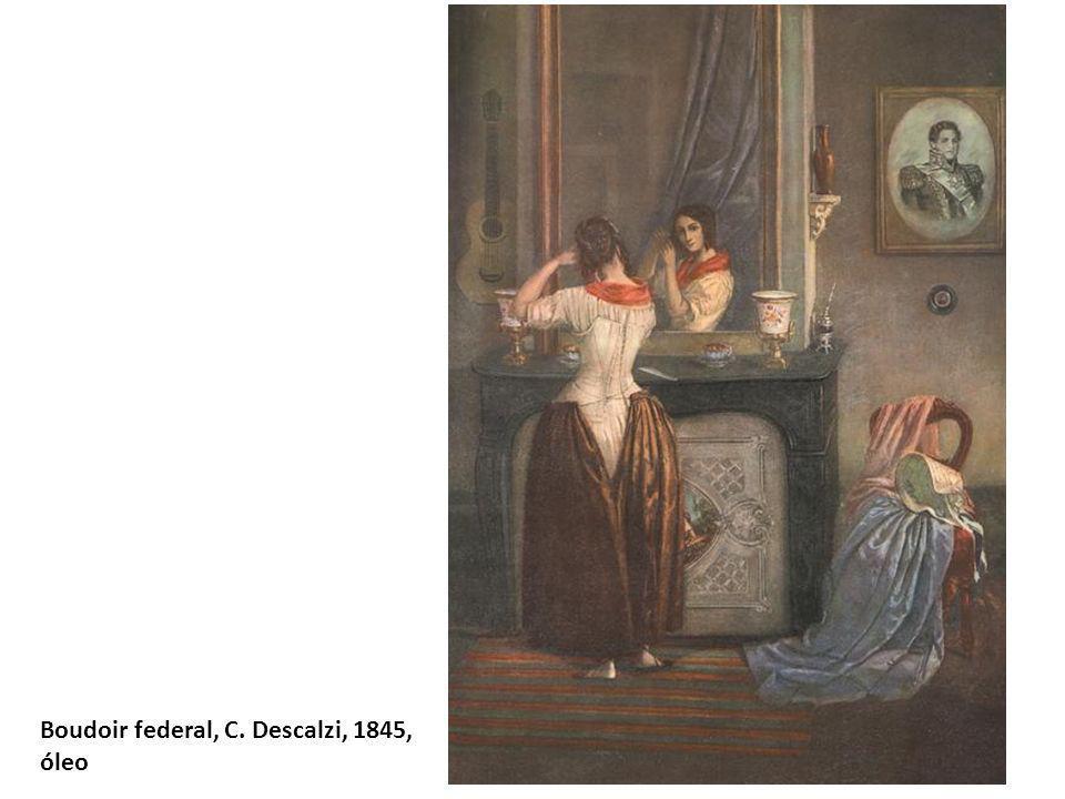 Boudoir federal, C. Descalzi, 1845,