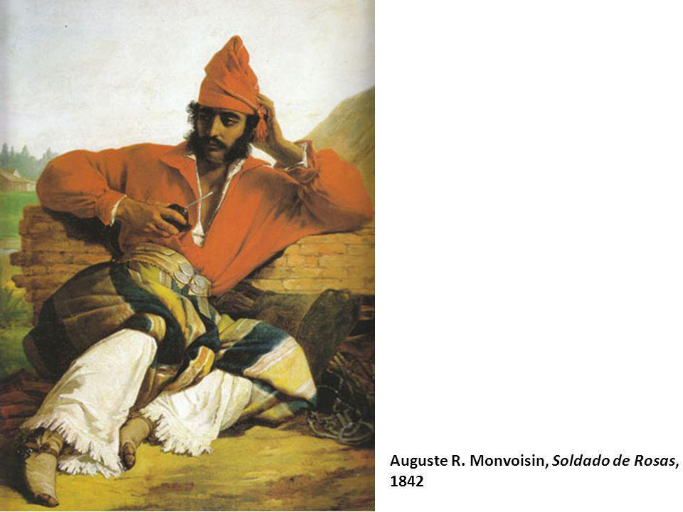 Auguste R. Monvoisin, Soldado de Rosas,